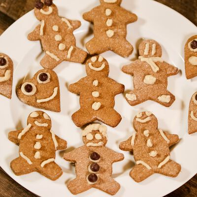 Gingerbread (Rice Flour) Cookies