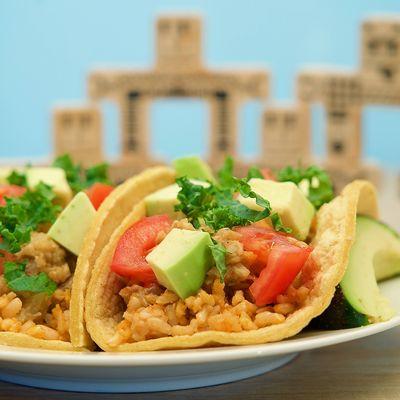 Tempeh Veggie Tacos