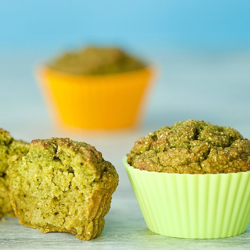 Magic Green Muffins
